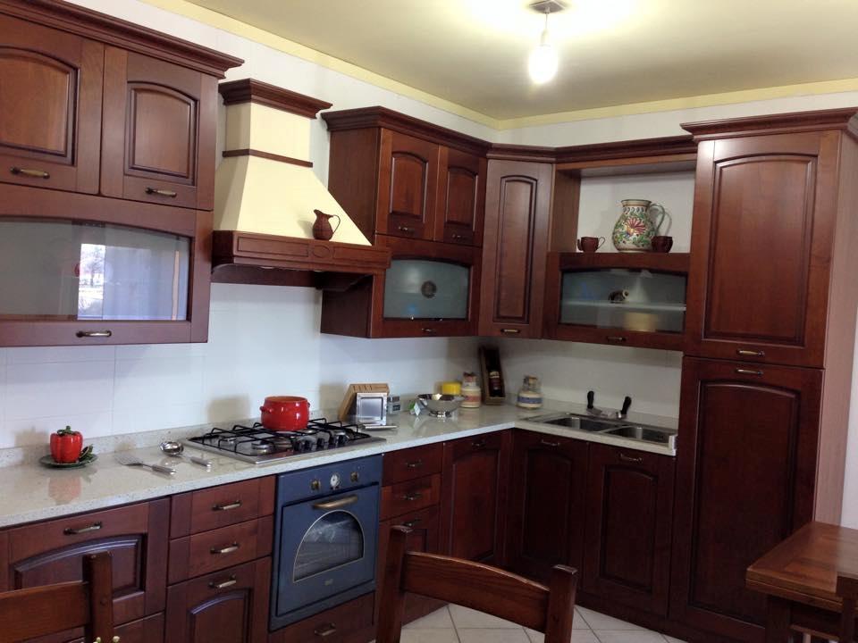 Cucina ginevra in ciliegio al 54 di sconto cucine a - Cucina ginevra stosa ...