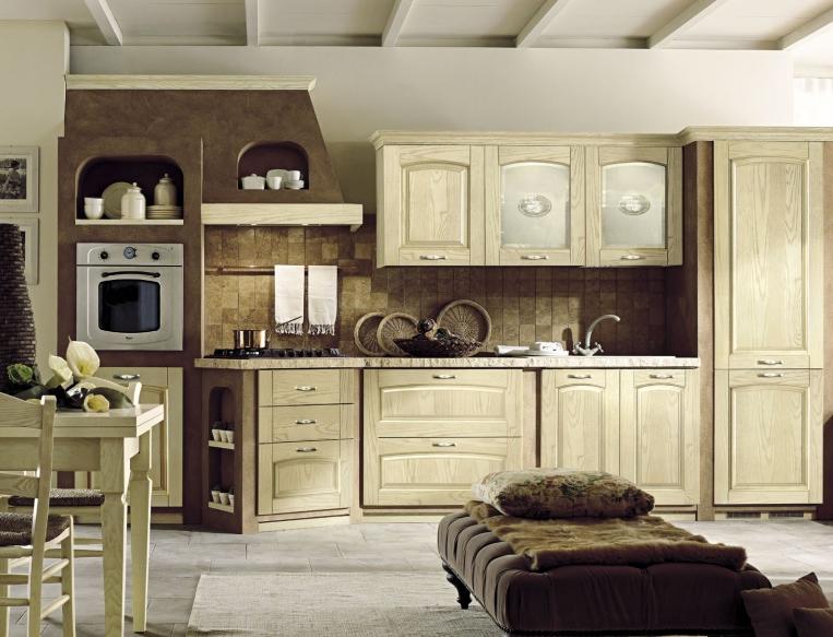 Cucine stile rustico hv92 pineglen - Cucine in stile ...