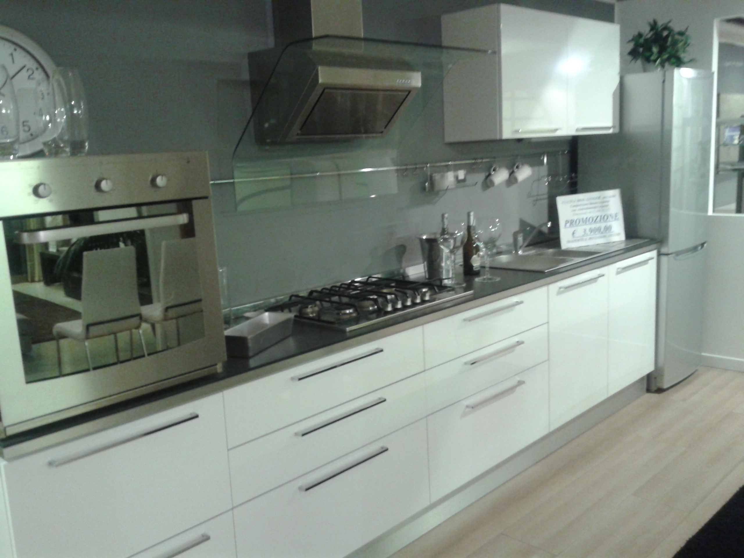 Cucina Veneta Cucine Modello Prevolution Ginger Plus Disponibile Nei  #597262 2560 1920 Open Space Con Sala Da Pranzo