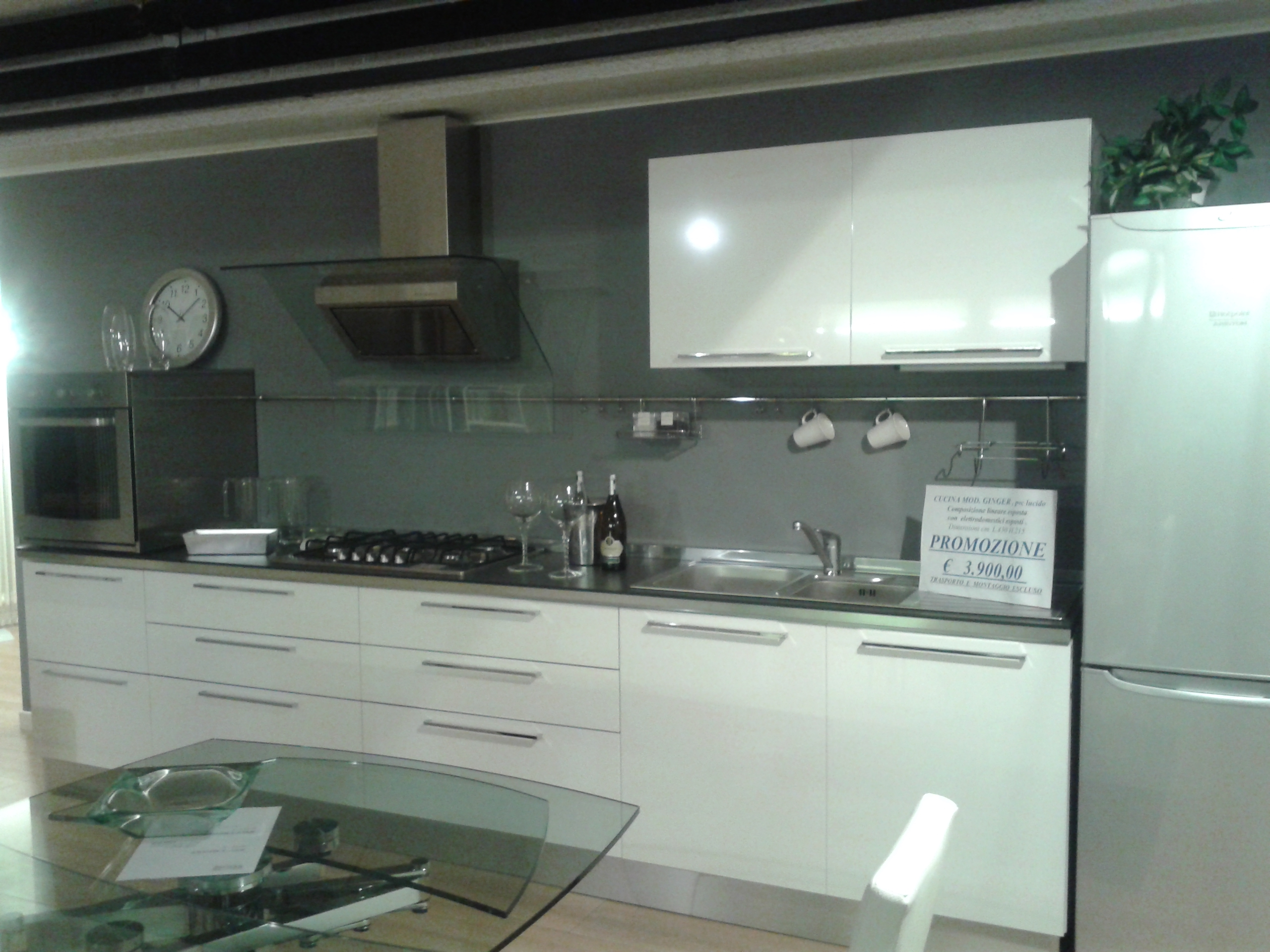 Cucina Veneta Cucine Modello Prevolution Ginger Plus Disponibile Nei  #567560 2560 1920 Open Space Con Sala Da Pranzo
