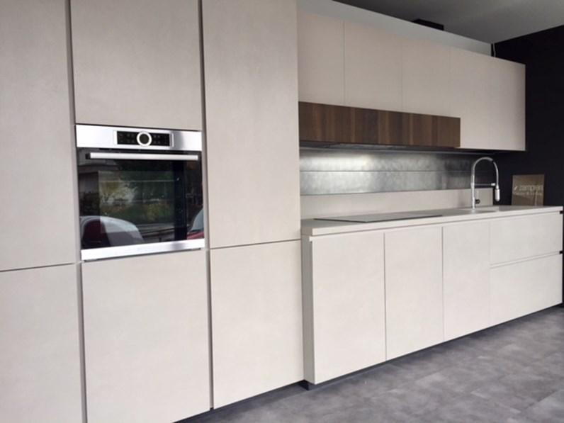 Piano Cucina Kerlite.Cucina Glasstone Kerlite Gres E Vetro Design Grigio Lineare Zampieri Cucine