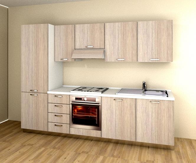 Cucina gm cucine kubika laminato materico cucine a - Gm cucine prezzi ...