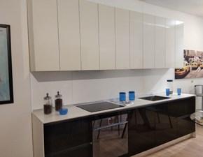 Cucina Gm cucine moderna lineare bianca in laminato lucido Vega