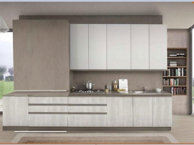 Cucina gola inserto moderna con colonne nuovi mondi cucine for Cucina moderna 3 60