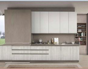 Cucina gola inserto moderna con colonne  Nuovi mondi cucine
