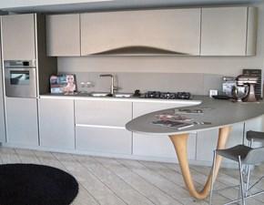 Cucina grigio design ad angolo Ola 20 Snaidero