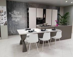 Cucina grigio design ad isola B50 Berloni cucine
