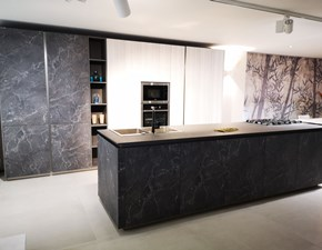 Cucina grigio design ad isola Z6 kali' Arredo3 in offerta