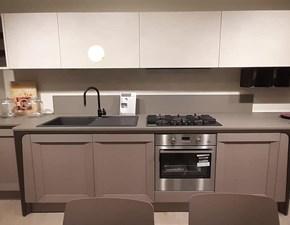 Cucina grigio design lineare Milano Berloni cucine in Offerta Outlet