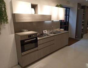 Cucina grigio design lineare Start presa Veneta cucine