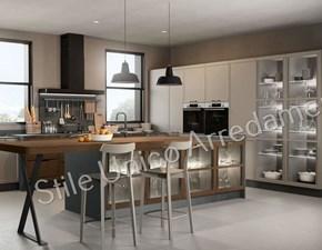 Cucina grigio moderna ad angolo Emma Colombini casa