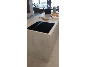 Cucina grigio moderna ad isola Lab isola Cucine esse