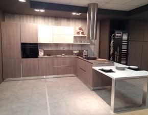 Cucina grigio moderna con penisola Milly Stosa cucine