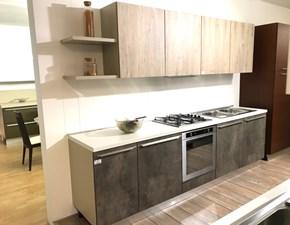 Cucina grigio moderna lineare 22 hpl Gm cucine in Offerta Outlet