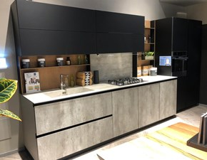 Cucina grigio moderna lineare Alliant  Stosa