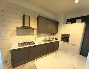 Cucina grigio moderna lineare Contempo laccata Lube cucine in offerta
