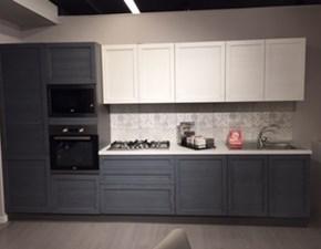 Cucina grigio moderna lineare Elsa Net cucine