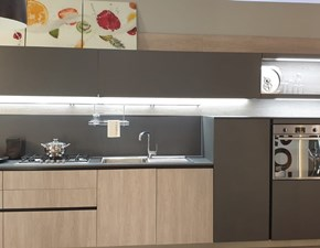 Cucina grigio moderna lineare First Snaidero in Offerta Outlet