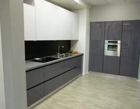 Cucina grigio moderna lineare Fly di Ar-tre