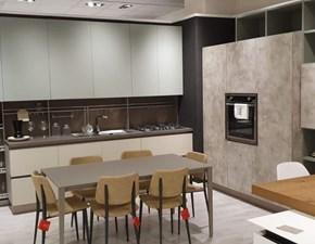 Cucina grigio moderna lineare Immagina Lube cucine in offerta
