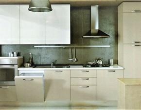 Cucina grigio moderna lineare Lungomare 14 Artec in Offerta Outlet