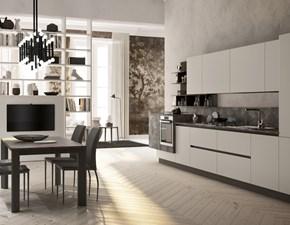 Cucina grigio moderna lineare Lungomare Artec in Offerta Outlet