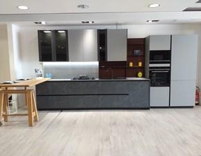 Cucina grigio moderna lineare Metropolis Stosa cucine in Offerta Outlet