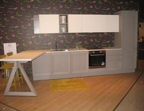 Cucina grigio moderna lineare Milano Berloni cucine