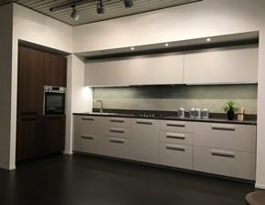 Cucina grigio moderna lineare Roll Ernestomeda
