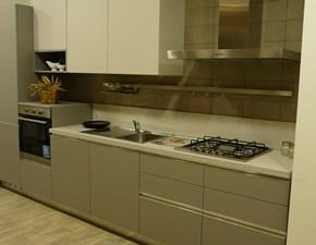 Cucina grigio moderna lineare Sky Ar-tre in Offerta Outlet