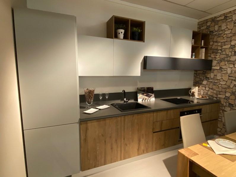 Cucina Home Cucine Lineare Colormatt Gray Scontata