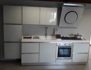 Cucina Horizon moderna bianca lineare Dibiesse