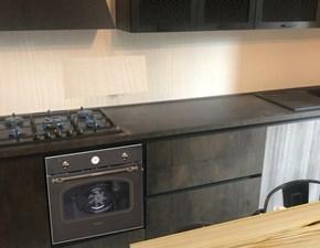 Cucina i industriale lineare rame bronzo Nuovi mondi cucine