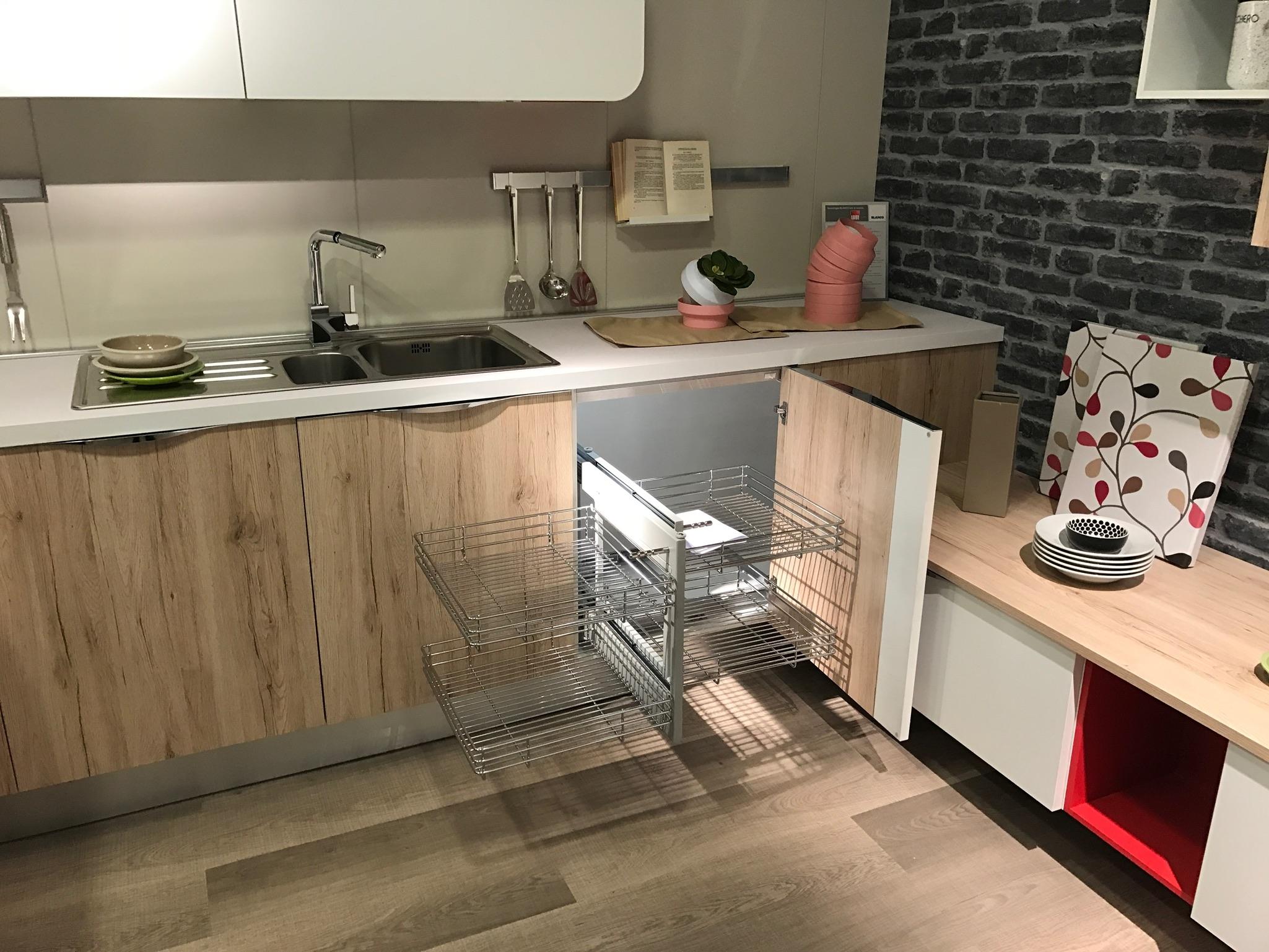 Cucina immagina lube con penisola prezzo offerta cucine - Cucina lube prezzo ...
