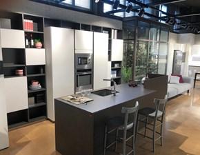 Cucina Immagina moderna grigio ad isola Lube cucine