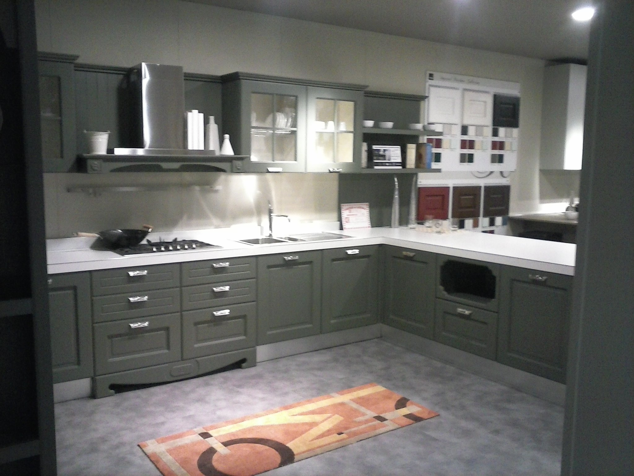 Isola cucina legno creativo for Offerte aran cucine