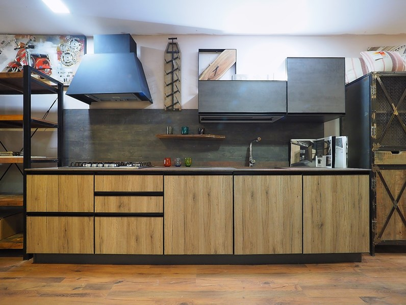 Cucina in acciaio nuovi mondi cucine a prezzi outlet - Cucine in acciaio prezzi ...