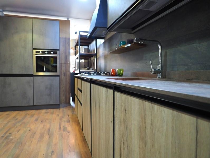 Cucina in acciaio nuovi mondi cucine a prezzi outlet - Cucina acciaio prezzi ...