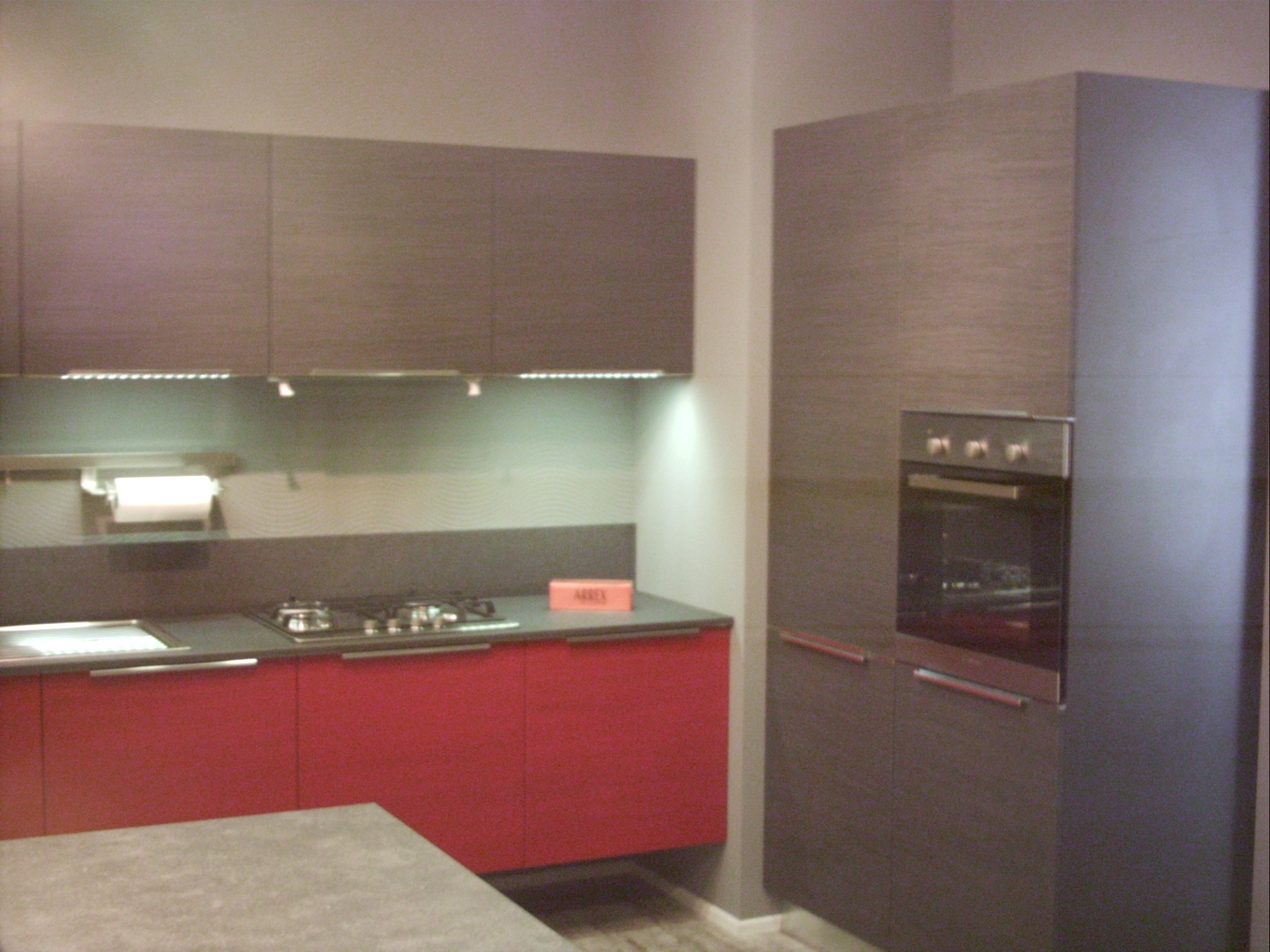 Cucina Rossa. Great Venere With Cucina Rossa. Awesome Cucine With ...