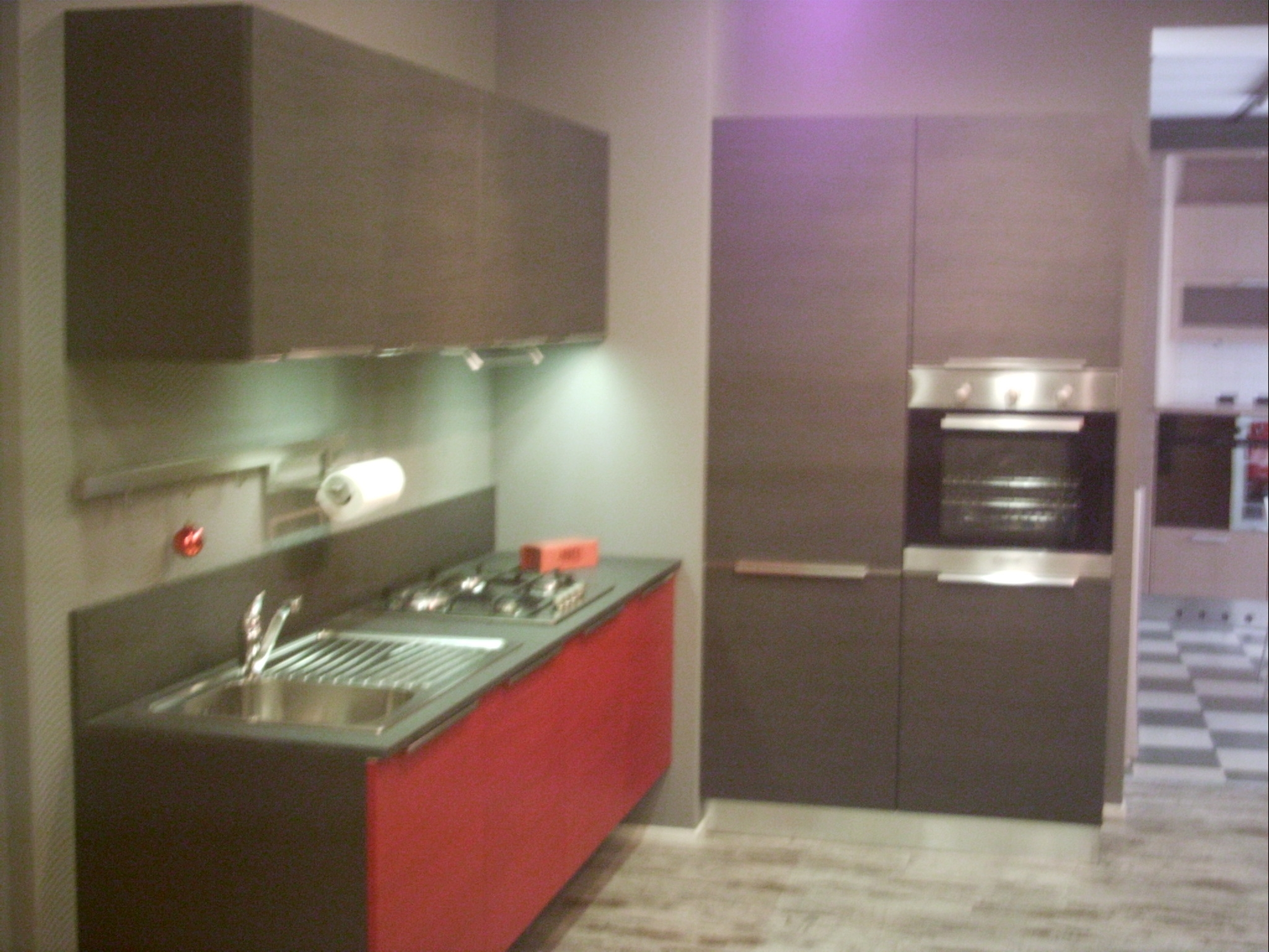 Cucina Rossa E Pareti : Cucina rossa e pareti. Cucina rossa e ...