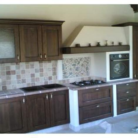 Lavanderia idee bagno - Rivestimento cucina in muratura ...