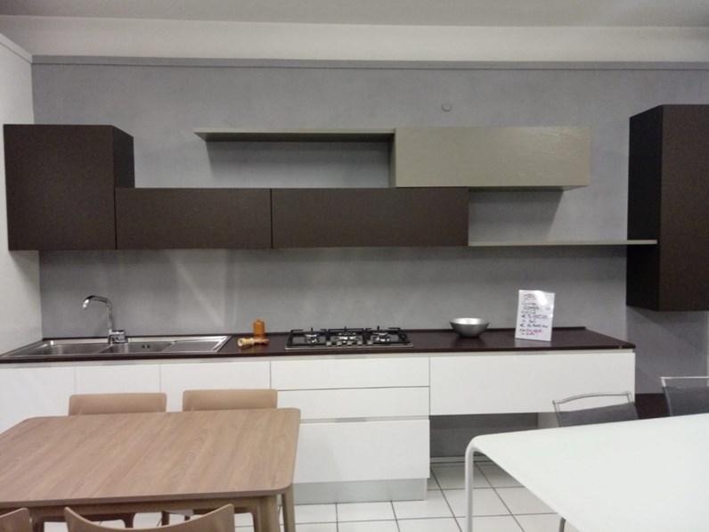 Cucina in laccato lucido Composit a PREZZI OUTLET