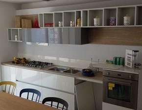 Cucina in laminato lucido Forma 2000 a PREZZI OUTLET