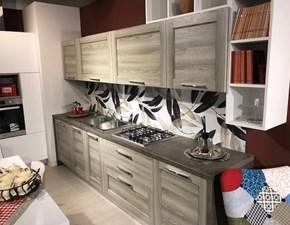 Cucina in laminato materico Arrex a PREZZI OUTLET