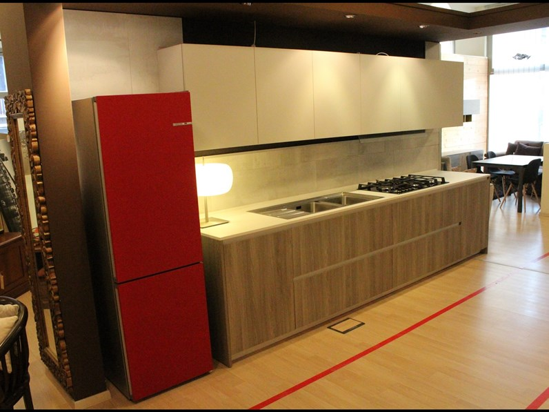 Cucina in laminato materico arrital cucine a prezzi outlet - Cucine arrital prezzi ...