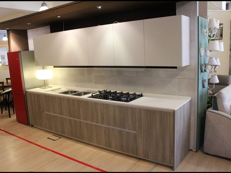 Cucina in laminato materico Arrital cucine a PREZZI OUTLET