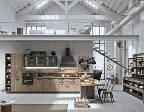 Cucina in laminato materico Astra cucine a PREZZI OUTLET