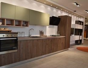 Cucina in laminato materico Creo kitchens a PREZZI OUTLET