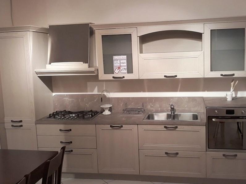 Cucina in legno Arredo3 mod. Opera a PREZZI OUTLET