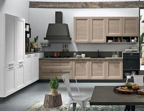 Cucina in legno Cucine store a PREZZI OUTLET